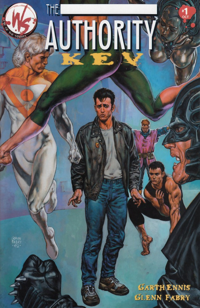 Couverture de Authority (The): Kev (2002) -1- The Authority: Kev