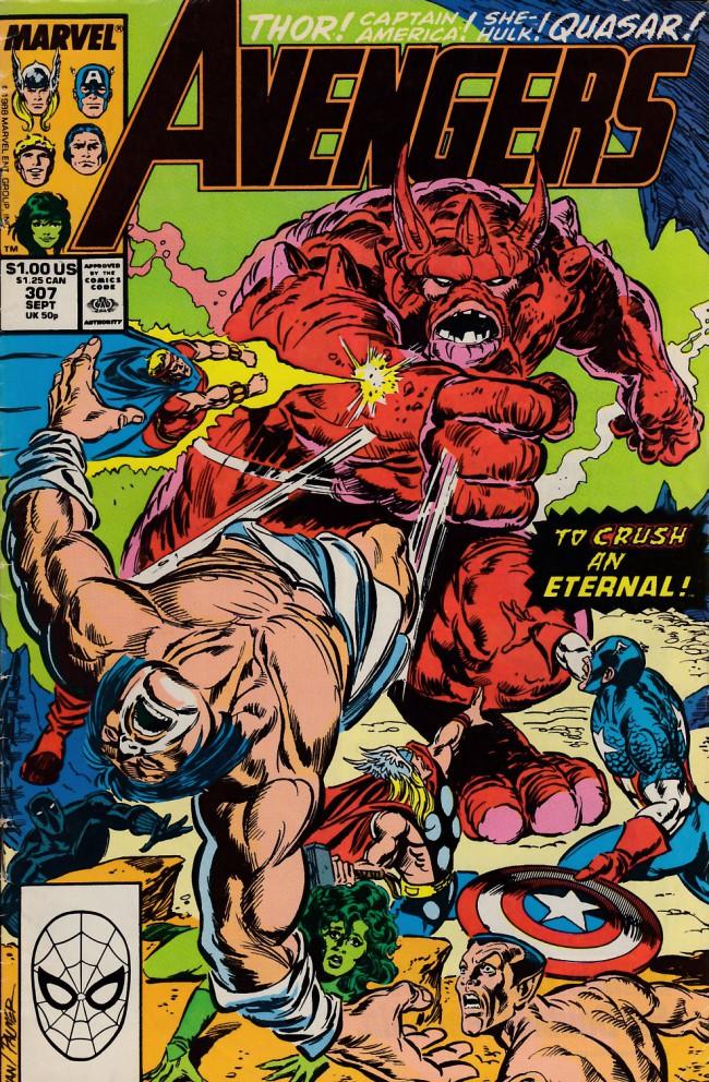 Couverture de Avengers (The) (1963) -307- Metamorphosis