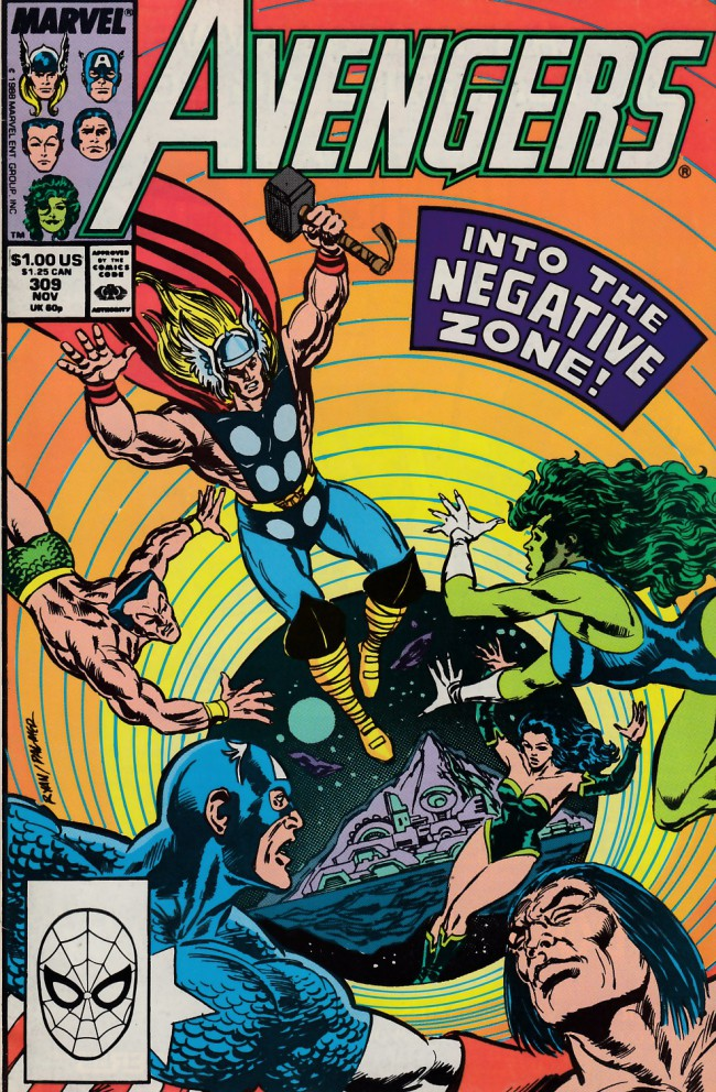 Couverture de Avengers Vol. 1 (Marvel Comics - 1963) -309- To find Olympia