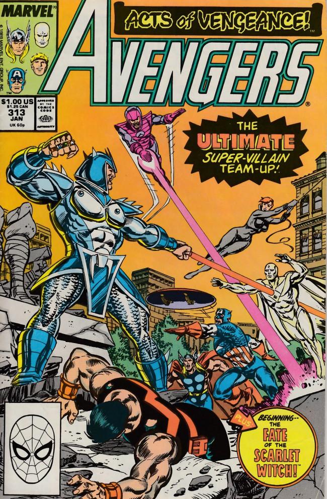 Couverture de Avengers (The) (1963) -313- Thieves honor
