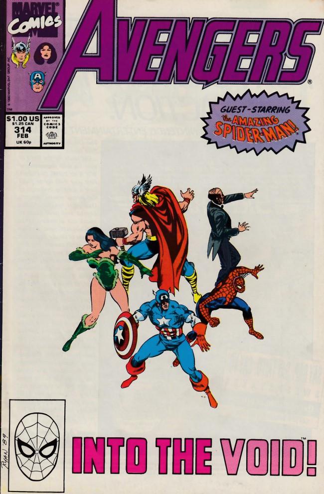 Couverture de Avengers Vol. 1 (Marvel Comics - 1963) -314- Along came a spider