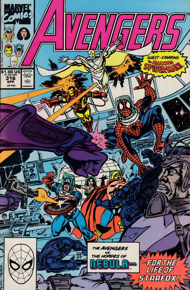 Couverture de Avengers (The) Vol. 1 (Marvel Comics - 1963) -316- Spiders and stars