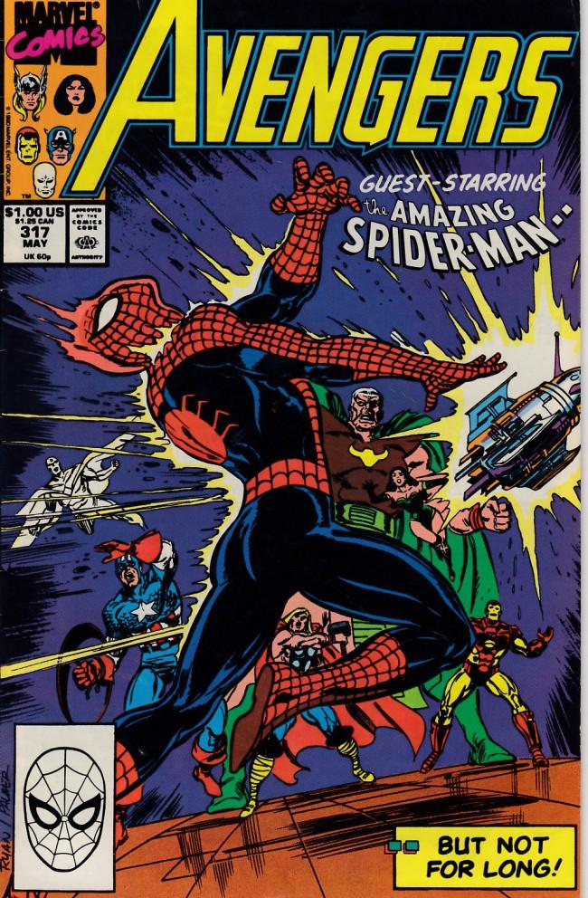 Couverture de Avengers Vol. 1 (Marvel Comics - 1963) -317- Business as usual