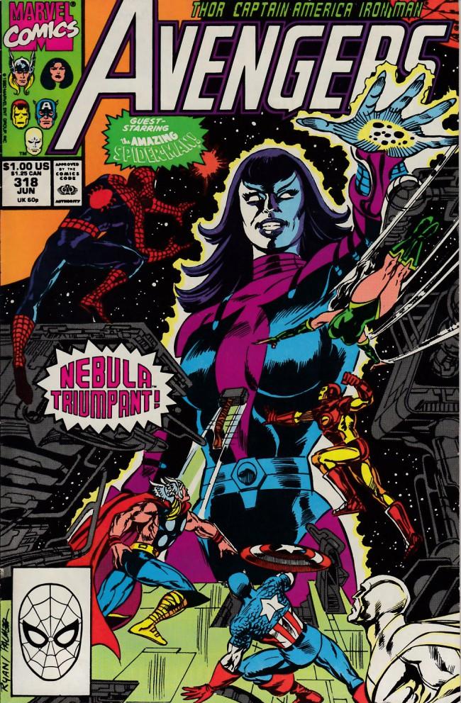 Couverture de Avengers Vol. 1 (Marvel Comics - 1963) -318- Avengeful god