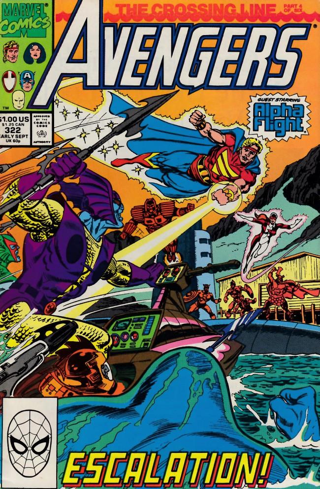 Couverture de Avengers (The) (1963) -322- The crossing line part 4