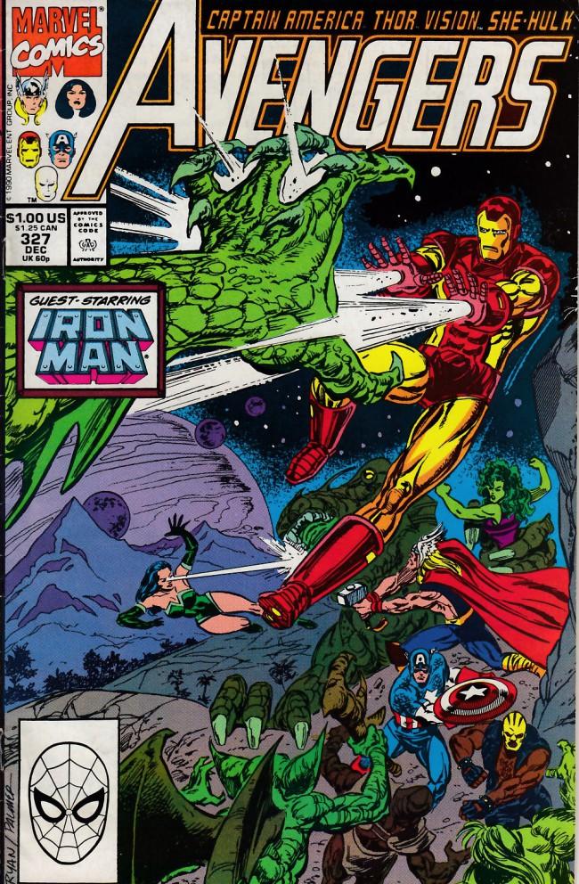 Couverture de Avengers Vol. 1 (Marvel Comics - 1963) -327- Into a darkling plain