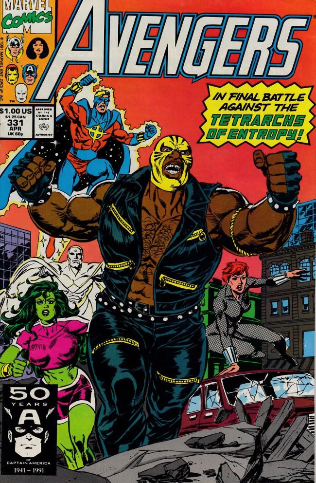 Couverture de Avengers Vol. 1 (Marvel Comics - 1963) -331- Pediments of clay