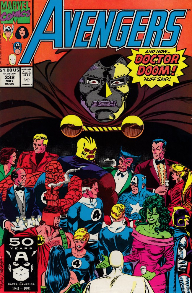Couverture de Avengers (The) (1963) -332- The many faces of doom