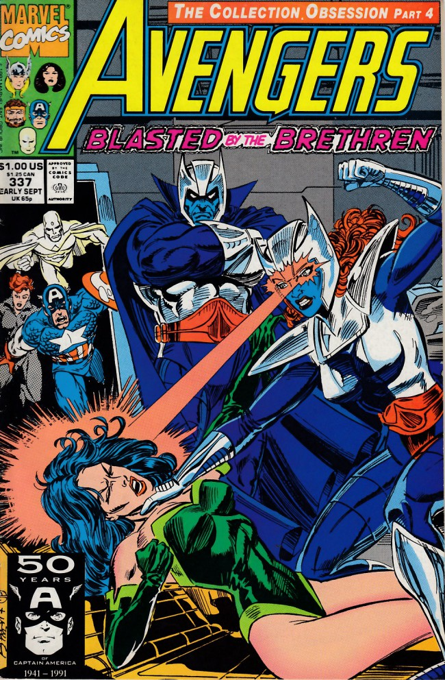 Couverture de Avengers Vol. 1 (Marvel Comics - 1963) -337- mud and glory