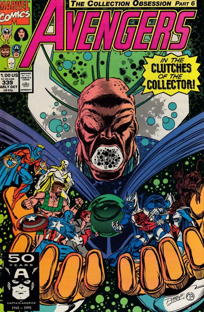 Couverture de Avengers Vol. 1 (Marvel Comics - 1963) -339- Final redemption