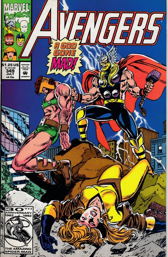 Couverture de Avengers Vol. 1 (Marvel Comics - 1963) -349- Death wager