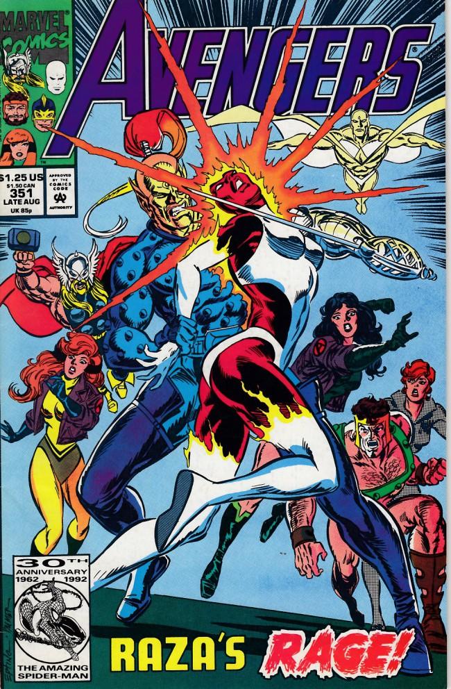 Couverture de Avengers (The) (1963) -351- Retribution