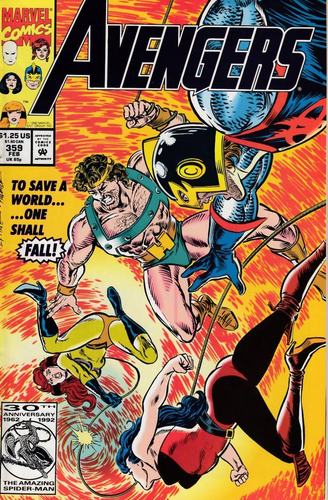 Couverture de Avengers Vol. 1 (Marvel Comics - 1963) -359- Gift of the gods