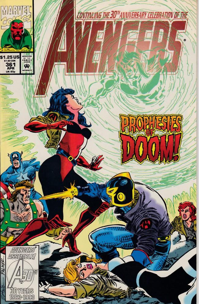 Couverture de Avengers (The) (1963) -361- Family responsability