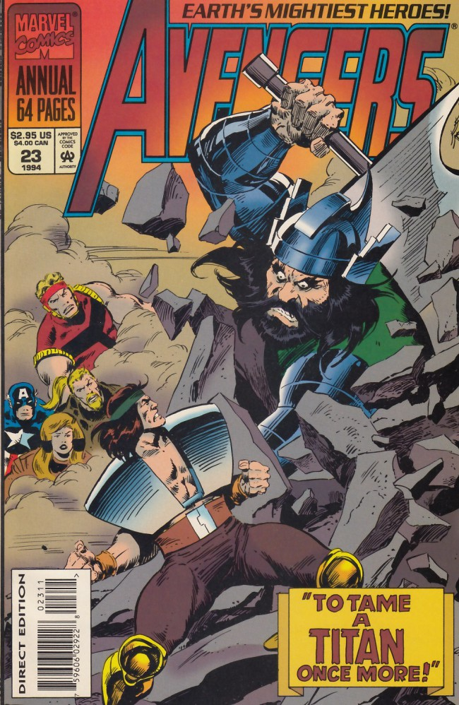 Couverture de Avengers (The) Vol. 1 (Marvel Comics - 1963) -AN23- Strangers on an astral plan