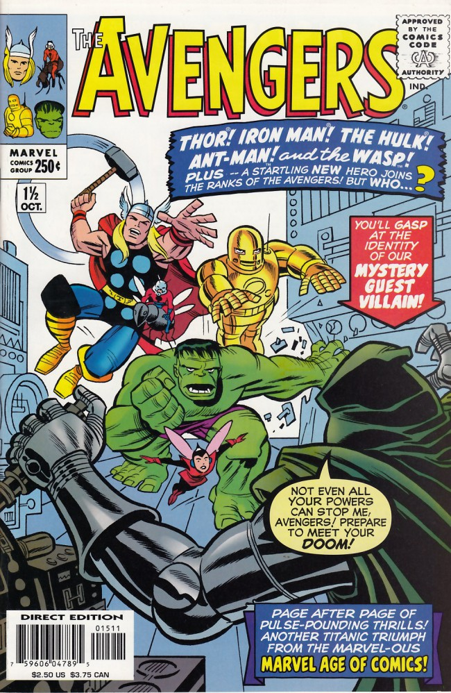 Couverture de Avengers Vol. 1 (Marvel Comics - 1963) -11 1/2- The death-trap of doctor doom