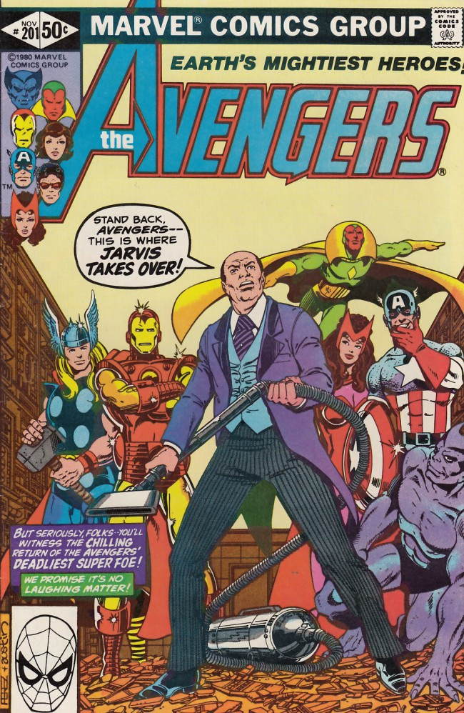 Couverture de Avengers (The) Vol. 1 (Marvel Comics - 1963) -201- The evil reborn