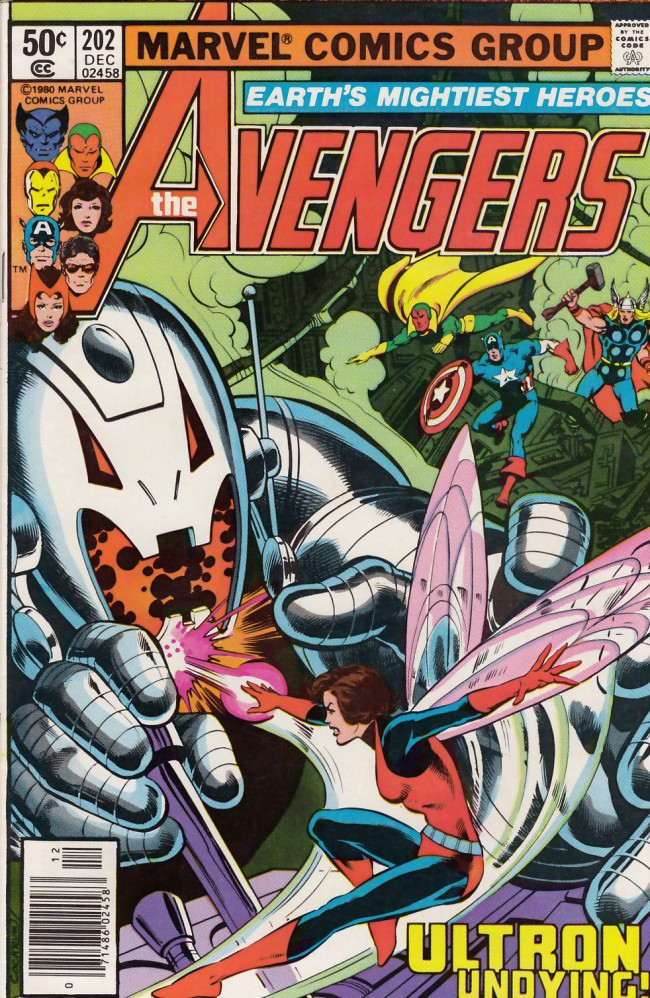 Couverture de Avengers (The) (1963) -202- This evil undying