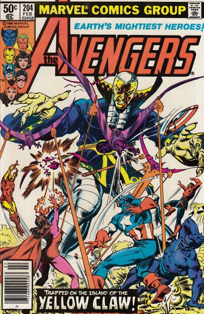 Couverture de Avengers Vol. 1 (Marvel Comics - 1963) -204- Claws across the water