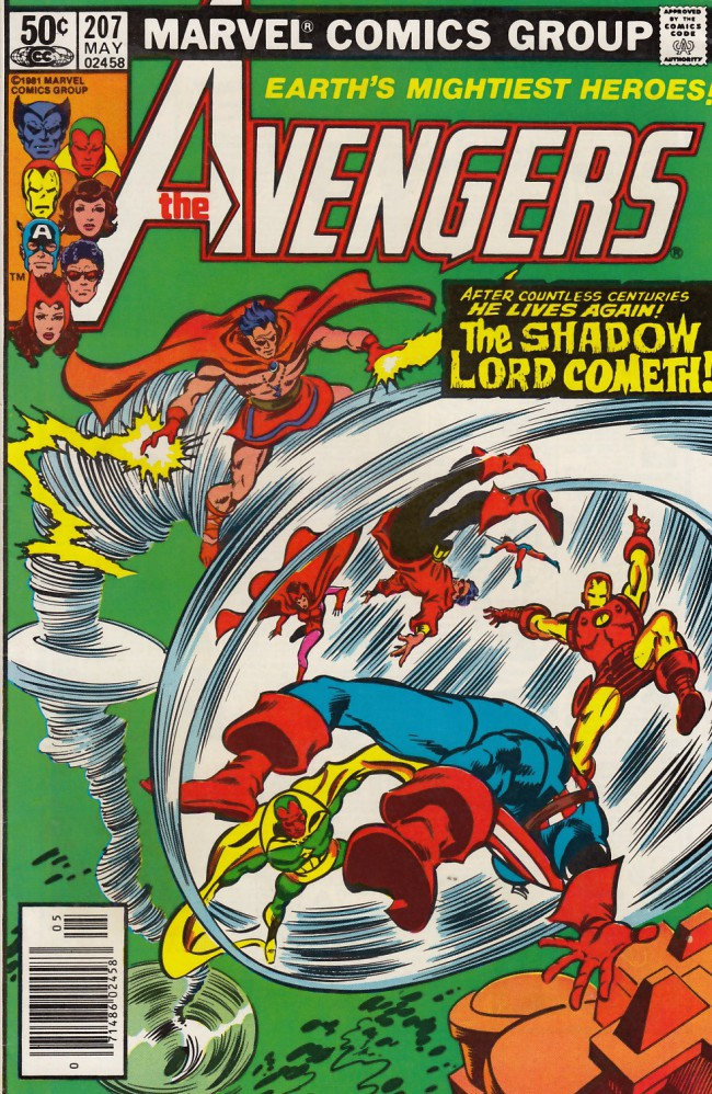 Couverture de Avengers Vol. 1 (Marvel Comics - 1963) -207- Beyond a shadow...