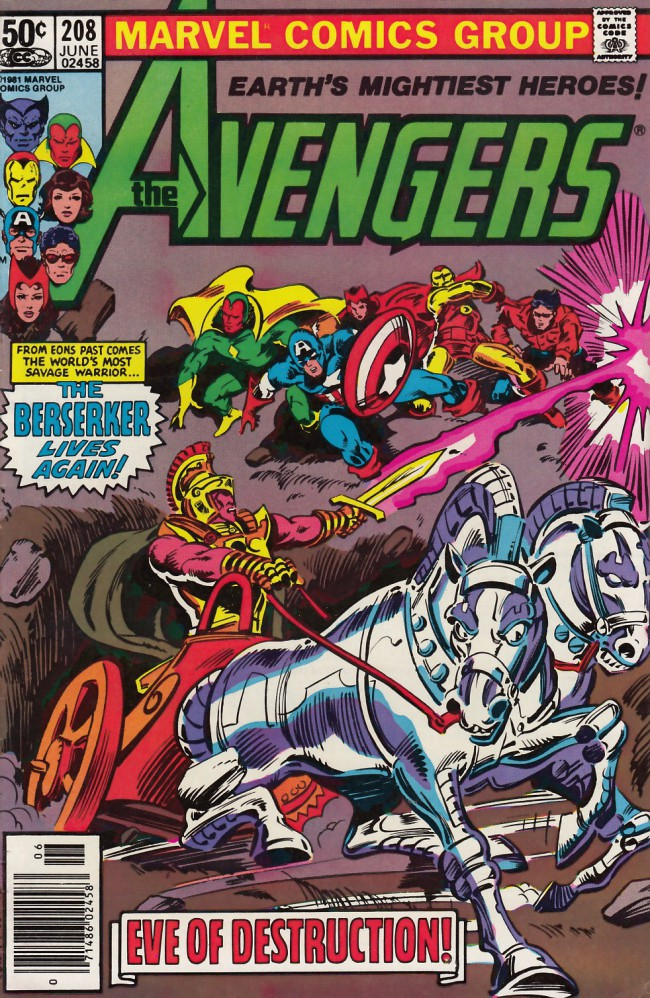 Couverture de Avengers Vol. 1 (Marvel Comics - 1963) -208- Eve of destruction
