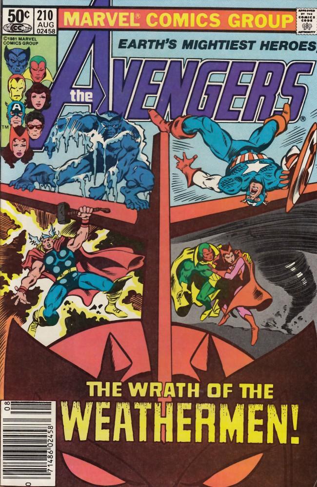 Couverture de Avengers Vol. 1 (Marvel Comics - 1963) -210- Weathermen