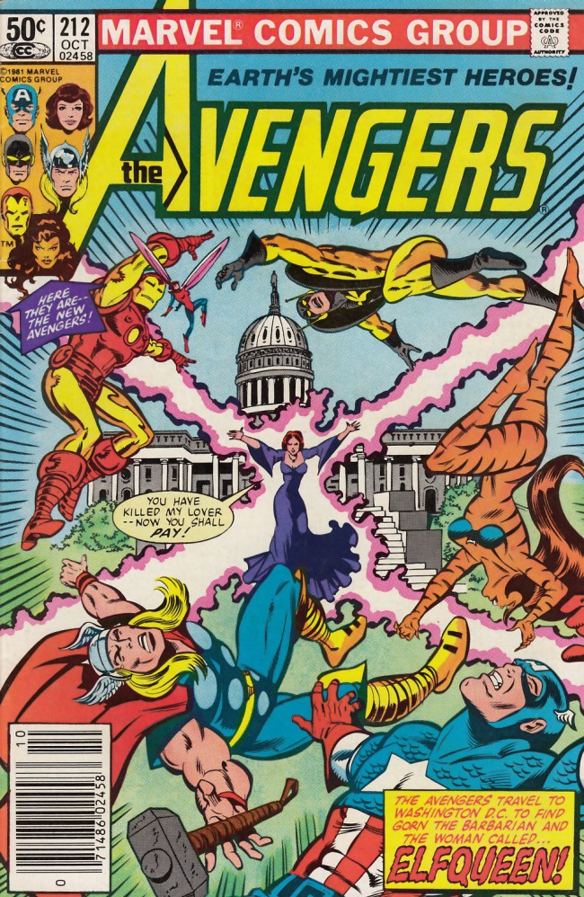 Couverture de Avengers Vol. 1 (Marvel Comics - 1963) -212- Me of deadly pride