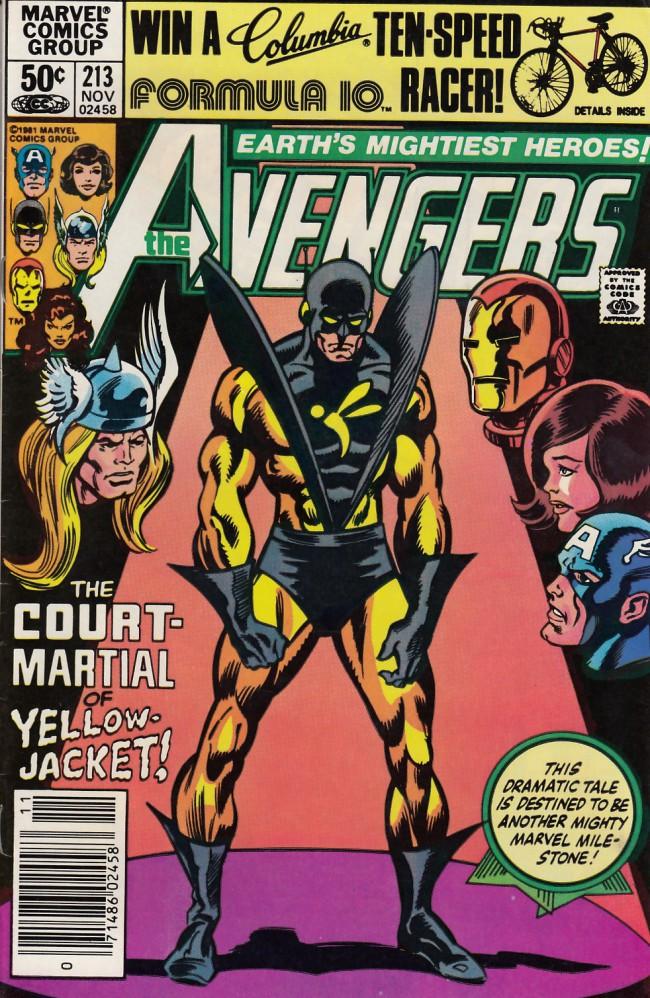 Couverture de Avengers (The) (1963) -213- Court-martial