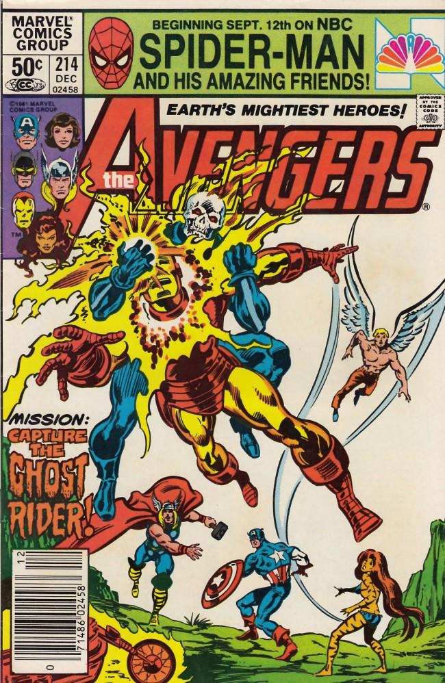 Couverture de Avengers (The) (1963) -214- Three angels fallen