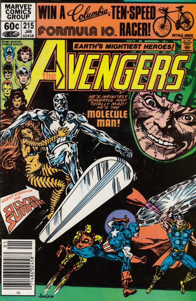 Couverture de Avengers (The) (1963) -215- All the ways of power