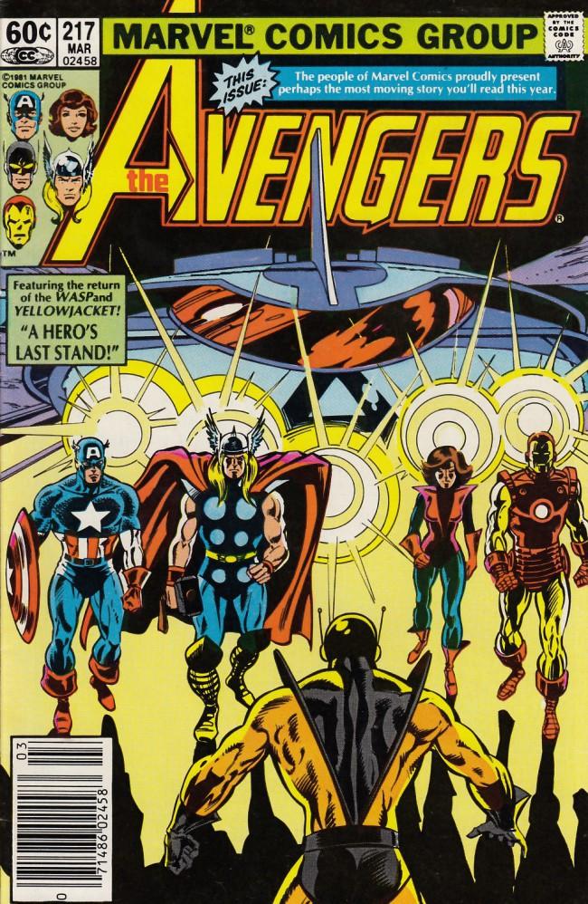 Couverture de Avengers Vol. 1 (Marvel Comics - 1963) -217- Double cross