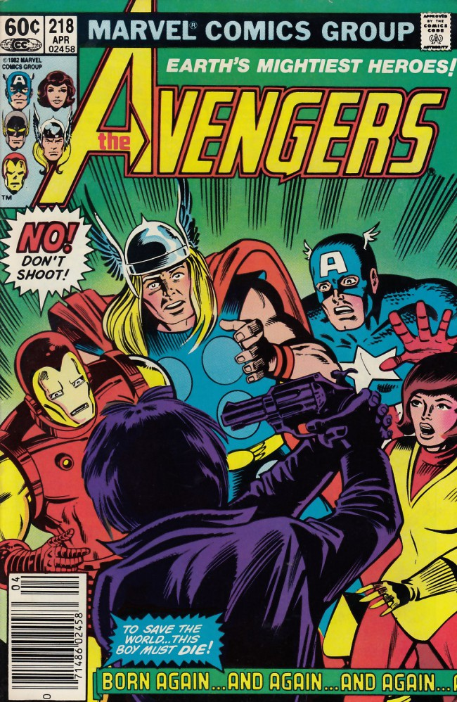 Couverture de Avengers Vol. 1 (Marvel Comics - 1963) -218- Born again (and again and again...)