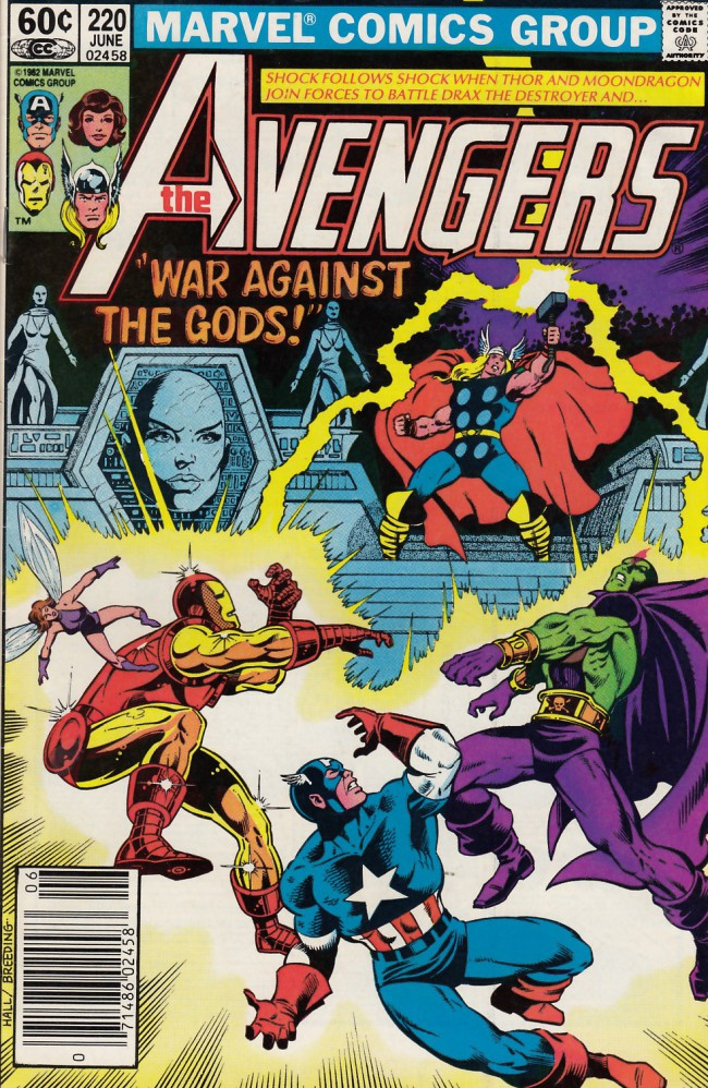 Couverture de Avengers Vol. 1 (Marvel Comics - 1963) -220- War against the gods