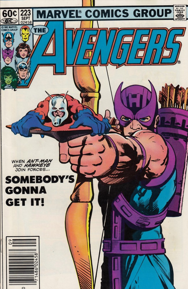 Couverture de Avengers Vol. 1 (Marvel Comics - 1963) -223- Of robin hoods and roustabouts