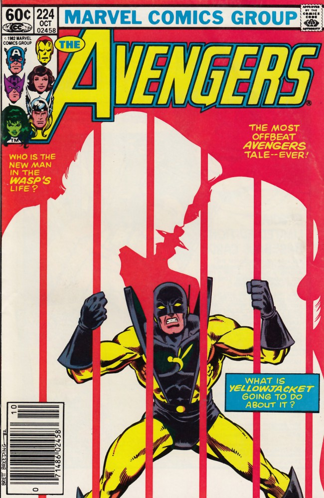 Couverture de Avengers (The) Vol. 1 (Marvel Comics - 1963) -224- Two from the heart
