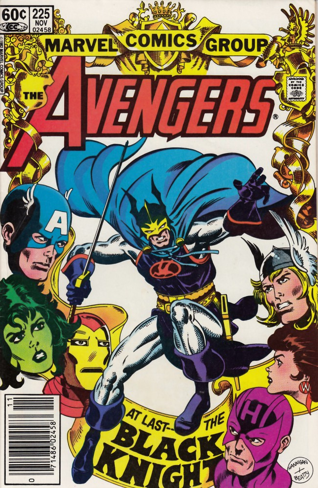 Couverture de Avengers (The) Vol. 1 (Marvel Comics - 1963) -225- The fall of avalon