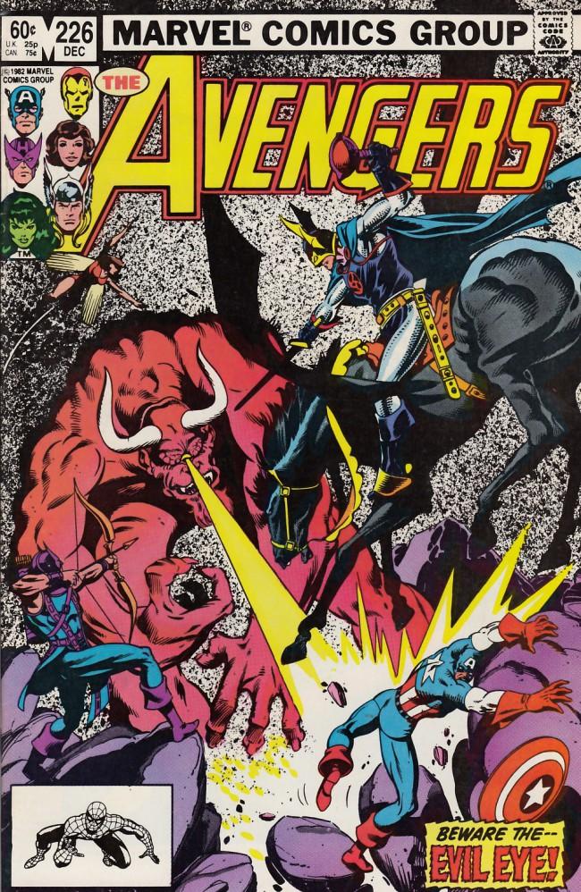 Couverture de Avengers (The) (1963) -226- An eye for an eye