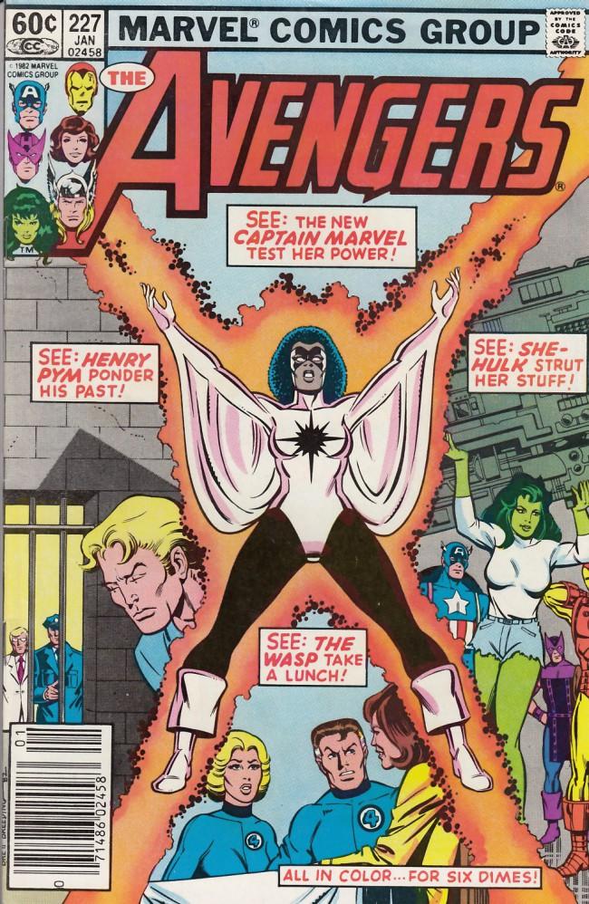 Couverture de Avengers Vol. 1 (Marvel Comics - 1963) -227- Testing...1...2...3!