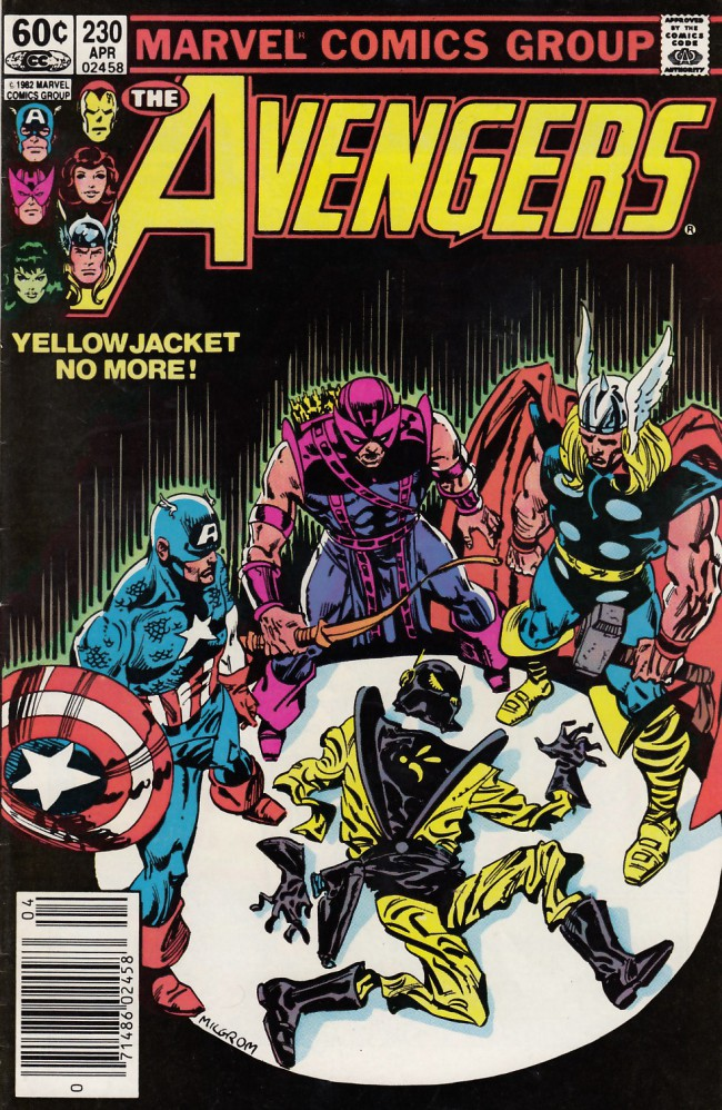 Couverture de Avengers Vol. 1 (Marvel Comics - 1963) -230- The last farwell