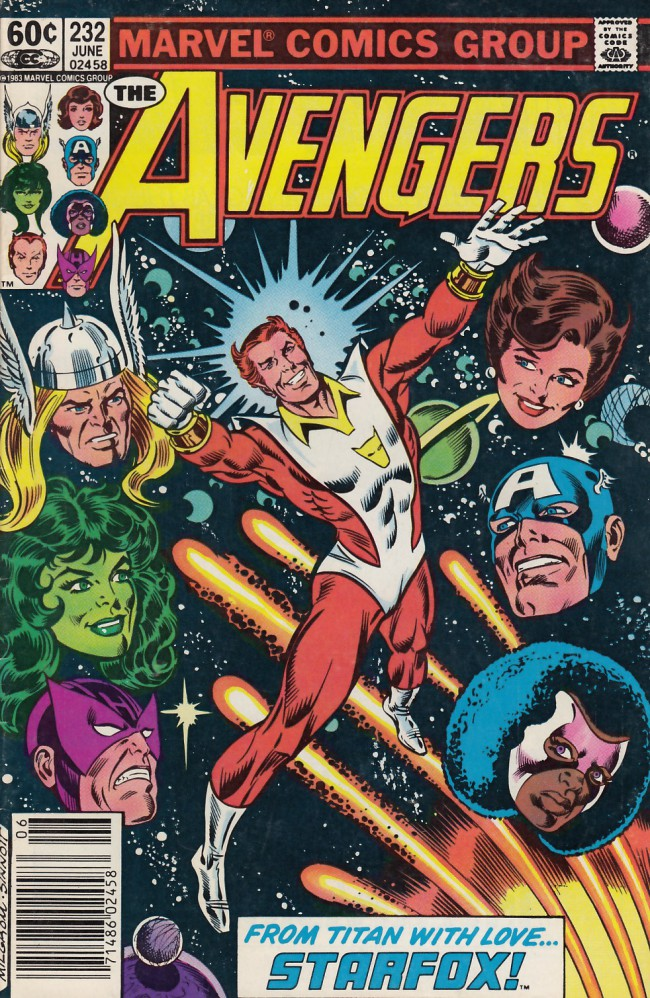 Couverture de Avengers Vol. 1 (Marvel Comics - 1963) -232- And now... Starfox