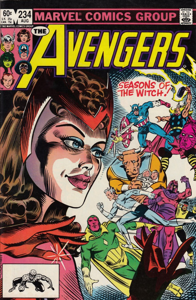 Couverture de Avengers Vol. 1 (Marvel Comics - 1963) -234- The witch's tale