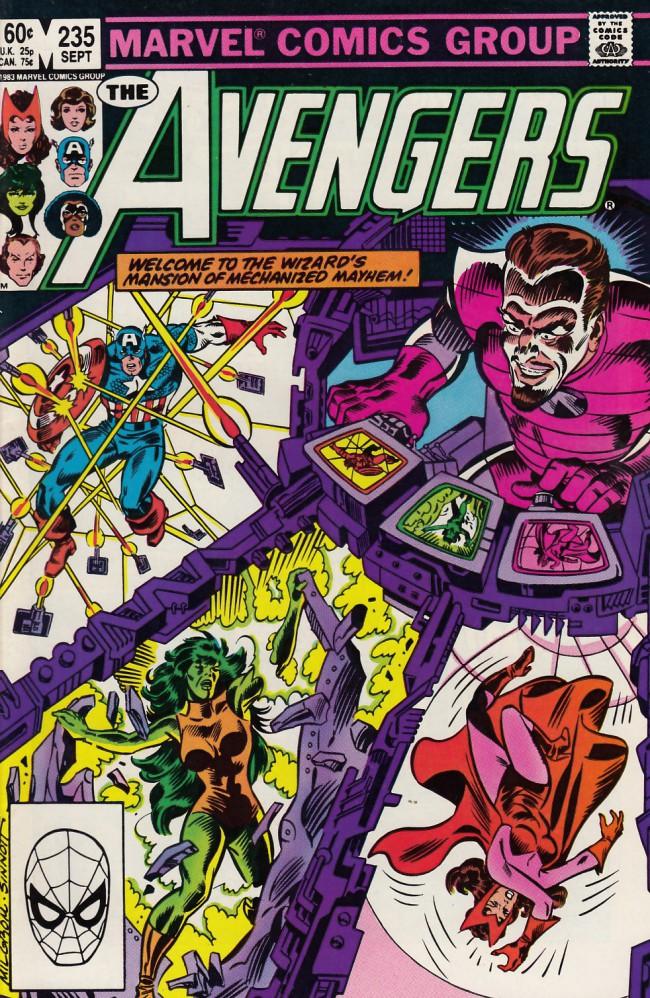 Couverture de Avengers (The) (1963) -235- Havoc on the homefront