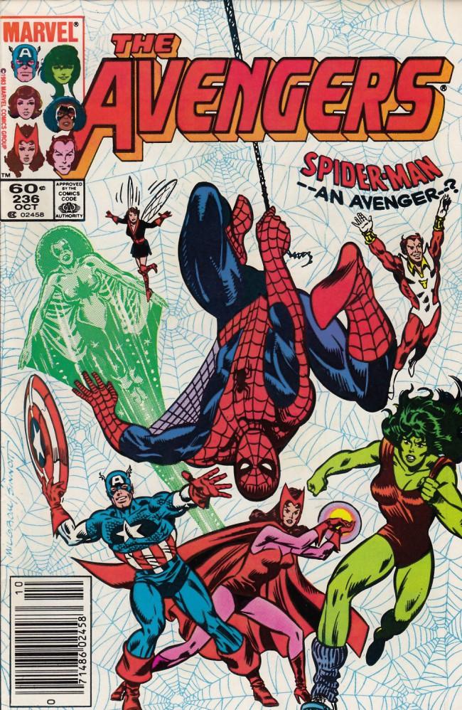 Couverture de Avengers Vol. 1 (Marvel Comics - 1963) -236- I want to be an avenger