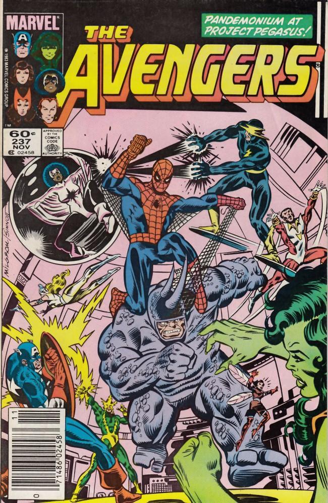 Couverture de Avengers Vol. 1 (Marvel Comics - 1963) -237- meltdowns and mayhem