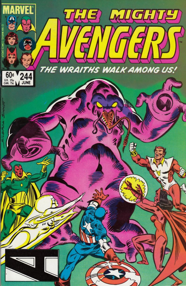 Couverture de Avengers Vol. 1 (Marvel Comics - 1963) -244- And the rocket's red glare
