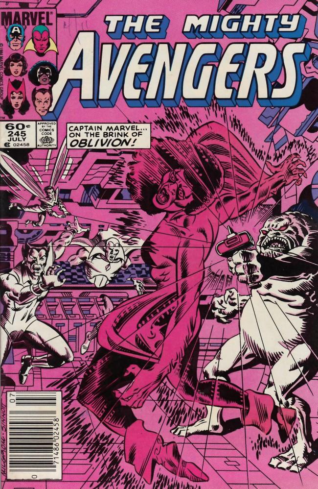 Couverture de Avengers Vol. 1 (Marvel Comics - 1963) -245- bombshells