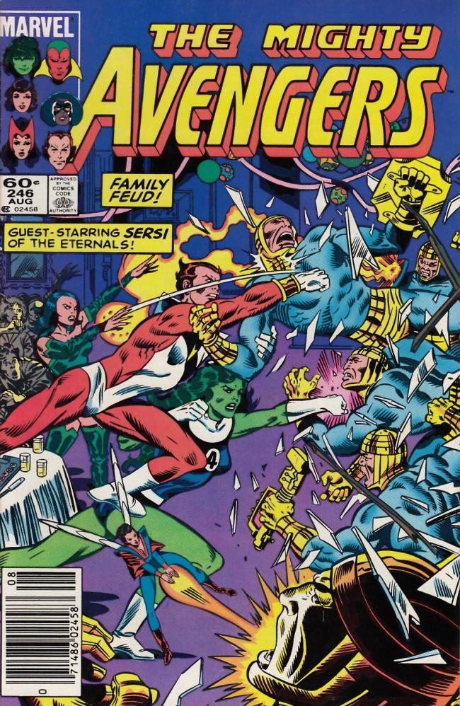 Couverture de Avengers Vol. 1 (Marvel Comics - 1963) -246- Gatherings