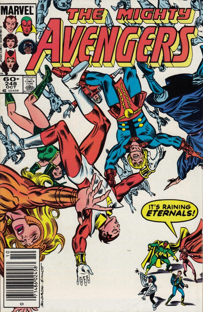 Couverture de Avengers (The) (1963) -248- To save the eternals
