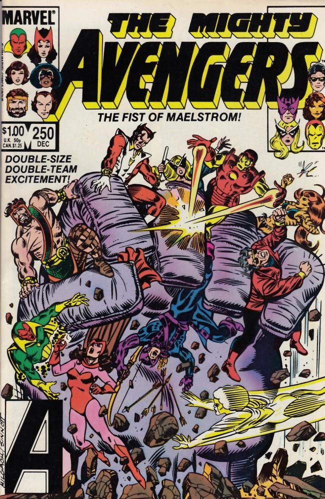 Couverture de Avengers Vol. 1 (Marvel Comics - 1963) -250- World power