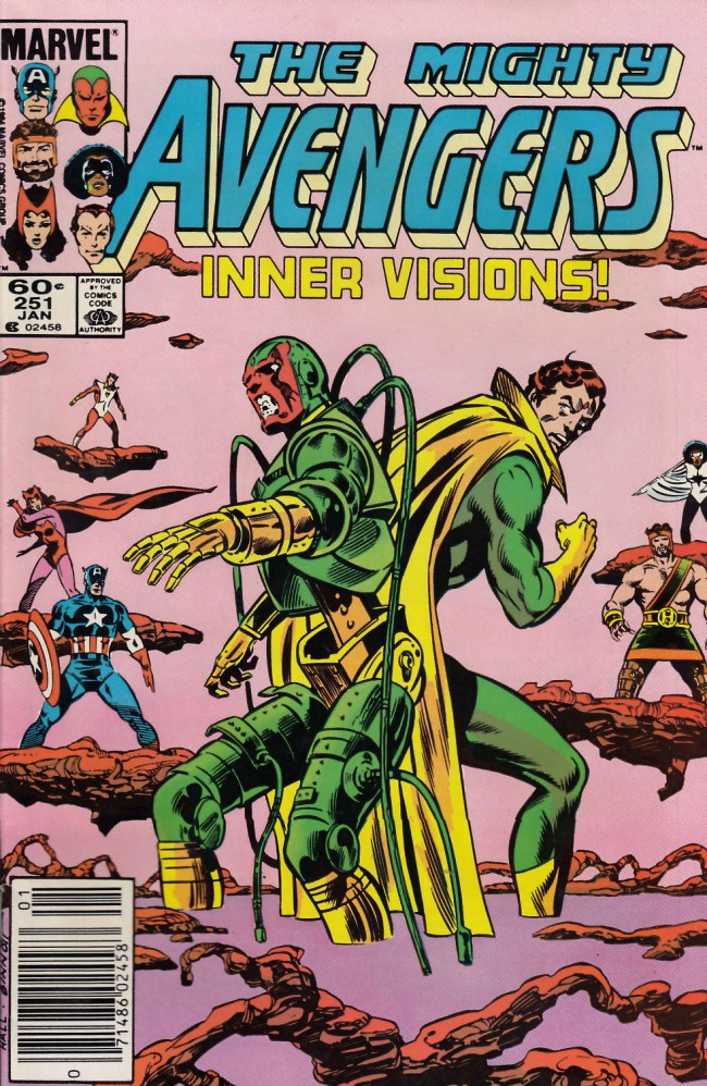 Couverture de Avengers (The) Vol. 1 (Marvel Comics - 1963) -251- deceptions